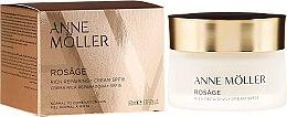 Parfémy, Parfumerie, kosmetika Krém na obličej - Anne Moller Rosage Rich Repairing Cream Spf15