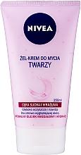 Parfémy, Parfumerie, kosmetika Krémový jemný mycí gel pro suchou a citlivou pokožku - Nivea Visage Cleansing Soft Cream Gel