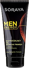 Parfémy, Parfumerie, kosmetika Čistící gel na obličej - Soraya Men Energy
