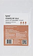 """Parfémy, Parfumerie, kosmetika Maska na obličej """"Síla olejů"""" - Lynia Power Of Oil Peel Off Powder Mask"""