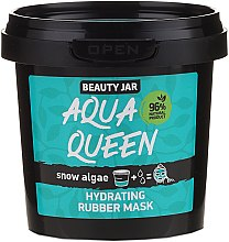 Parfémy, Parfumerie, kosmetika Hydratační obličejová maska s extraktem z mořských řas - Beauty Jar Face Care Aqua Queen Rubber Mask