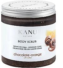 Parfémy, Parfumerie, kosmetika Tělový peeling Čokoláda a pomeranč - Kanu NatureBody Scrub