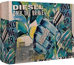 Parfémy, Parfumerie, kosmetika Diesel Only The Brave - Sada (edt/50ml + sh/g/100ml)