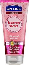 Parfémy, Parfumerie, kosmetika Tělový peeling - On Line Senses Body Scrub Japanese Secret