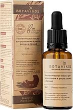 Parfémy, Parfumerie, kosmetika Kosmetický olej pro posílení a růst řas a obočí - Botavikos