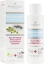 Parfémy, Parfumerie, kosmetika Hygienický fluid na oční víčka s extraktem ze světlíku lékařského - Floslek Eyebright Eyelid Hygiene Liquid