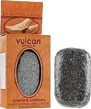 Parfémy, Parfumerie, kosmetika Pemza, 98x58x37mm, Dark Grey - Vulcan Pumice Stone