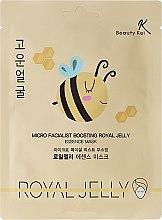 Parfémy, Parfumerie, kosmetika Látková maska na obličej - Beauty Kei Micro Facialist Boosting Royal Jelly Essence Mask