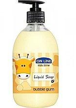 Parfémy, Parfumerie, kosmetika Tekuté mýdlo - On Line Kids Time Liquid Soap Bubble Gum