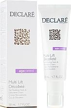 Parfémy, Parfumerie, kosmetika Remodelační krém na krk a dekolt - Declare Age Control Multi Lift Decollete Re-Modeling Neck