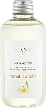 Parfémy, Parfumerie, kosmetika Masážní olej Monoi de Tahiti - Kanu Nature Monoi de Tahiti Massage Oil