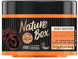 Parfémy, Parfumerie, kosmetika Tělový olej - Nature Box Apricot Oil Body Butter