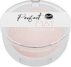 Parfémy, Parfumerie, kosmetika Matný pudr na obličej - Bell Perfect Mat Powder