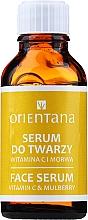 Parfémy, Parfumerie, kosmetika Sérum na obličej s vitamínem C - Orientana Bio Serum For Face
