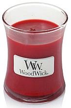 Parfémy, Parfumerie, kosmetika Vonná svíčka ve sklenici - WoodWick Hourglass Candle Pomegranate