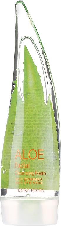 Sada - Holika Holika Aloe Face And Body Care Set (foam/55ml + gel/55ml + sh/gel/55ml) — foto N4