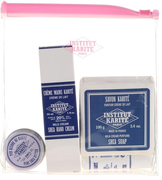 Sada - Institut Karite (h/cr/30ml + soap/100g + b/oil/10ml + lip balm/4g) — foto N1