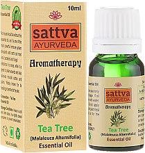 """Parfémy, Parfumerie, kosmetika Esenciální olej """"Čajový strom"""" - Sattva Ayurveda Tea Tree Essential Oil"""