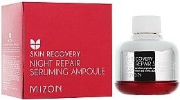 "Parfémy, Parfumerie, kosmetika Noční sérum ""Obnovení unavené pleti"" - Mizon Night Repair Seruming Ampoule"