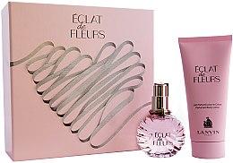 Parfémy, Parfumerie, kosmetika Lanvin Eclat De Fleurs - Sada (edp/50ml + b/lot/100ml)