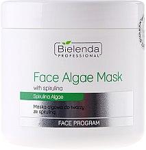 Parfémy, Parfumerie, kosmetika Alginátová obličejová maska se spirulinou - Bielenda Professional Algae Spirulina Face Mask
