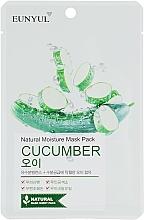 Parfémy, Parfumerie, kosmetika Pleťová látková maska s okurkovým extraktem - Eunyul Natural Moisture Mask Pack
