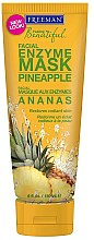 "Parfémy, Parfumerie, kosmetika Enzymová maska na obličej ""Ananas"" - Freeman Feeling Beautiful Pineapple Enzyme Mask"