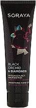 Parfémy, Parfumerie, kosmetika Vyhlazující krém na ruce s bílkovinami hedvábí - Soraya Black Orchid & Diamonds Smoothing Hand Cream