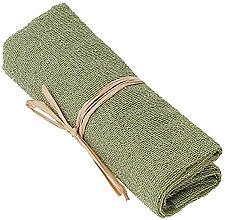 Parfémy, Parfumerie, kosmetika Exfoliační nylonový ručník na tělo, zelený - The Body Shop Body Polisher