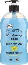 Parfémy, Parfumerie, kosmetika Šampon-sprchový gel Borůvky a aloe vera - Bluxcosmetics Naturaphy