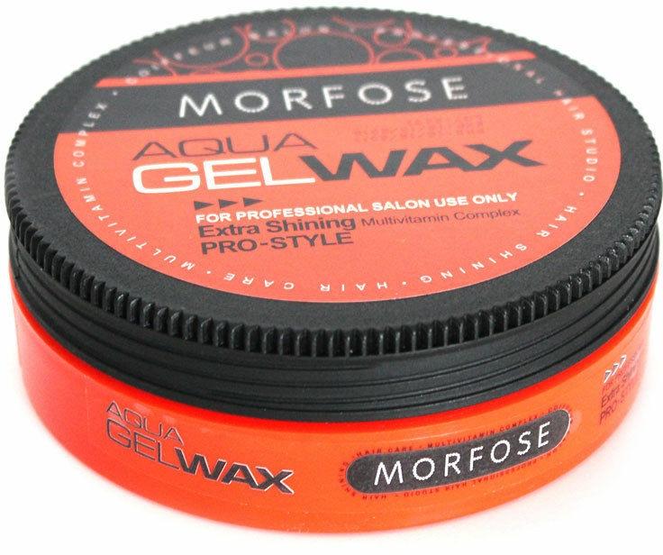 Prostředek pro styling vlasů - Morfose Aqua Gel Wax Extra Shining