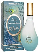 Parfémy, Parfumerie, kosmetika Jeanne Arthes Love Generation Mystic - Parfémovaná voda