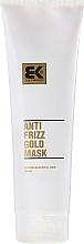 Parfémy, Parfumerie, kosmetika Regenerační maska pro poškozené vlasy - Brazil Keratin Anti Frizz Gold Mask
