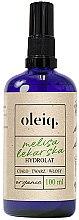 Parfémy, Parfumerie, kosmetika Hydrolát z meduňky na obličej, tělo a vlasy - Oleiq Hydrolat Melissa