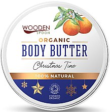 Parfémy, Parfumerie, kosmetika Tělové máslo Christmas Time - Wooden Spoon Christmas Time Body Butter