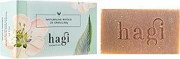 Parfémy, Parfumerie, kosmetika Přírodní mýdlo s výtažkem z citrónové trávy a spirulinou - Hagi Soap
