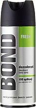 Parfémy, Parfumerie, kosmetika Deodorant - Bond Fresh Deo Spray
