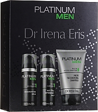 Parfémy, Parfumerie, kosmetika Sada - Dr. Irena Eris Platinum Men (shm/125ml + ash/balm/50ml + cr/50ml)