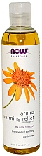 Parfémy, Parfumerie, kosmetika Hřejivý masážní olej s arnikou - Now Foods Pure Arnica Warming Relief Massage Oil