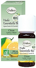 Parfémy, Parfumerie, kosmetika Organický esenciální olej Citron - Galeo Organic Essential Oil Lemon