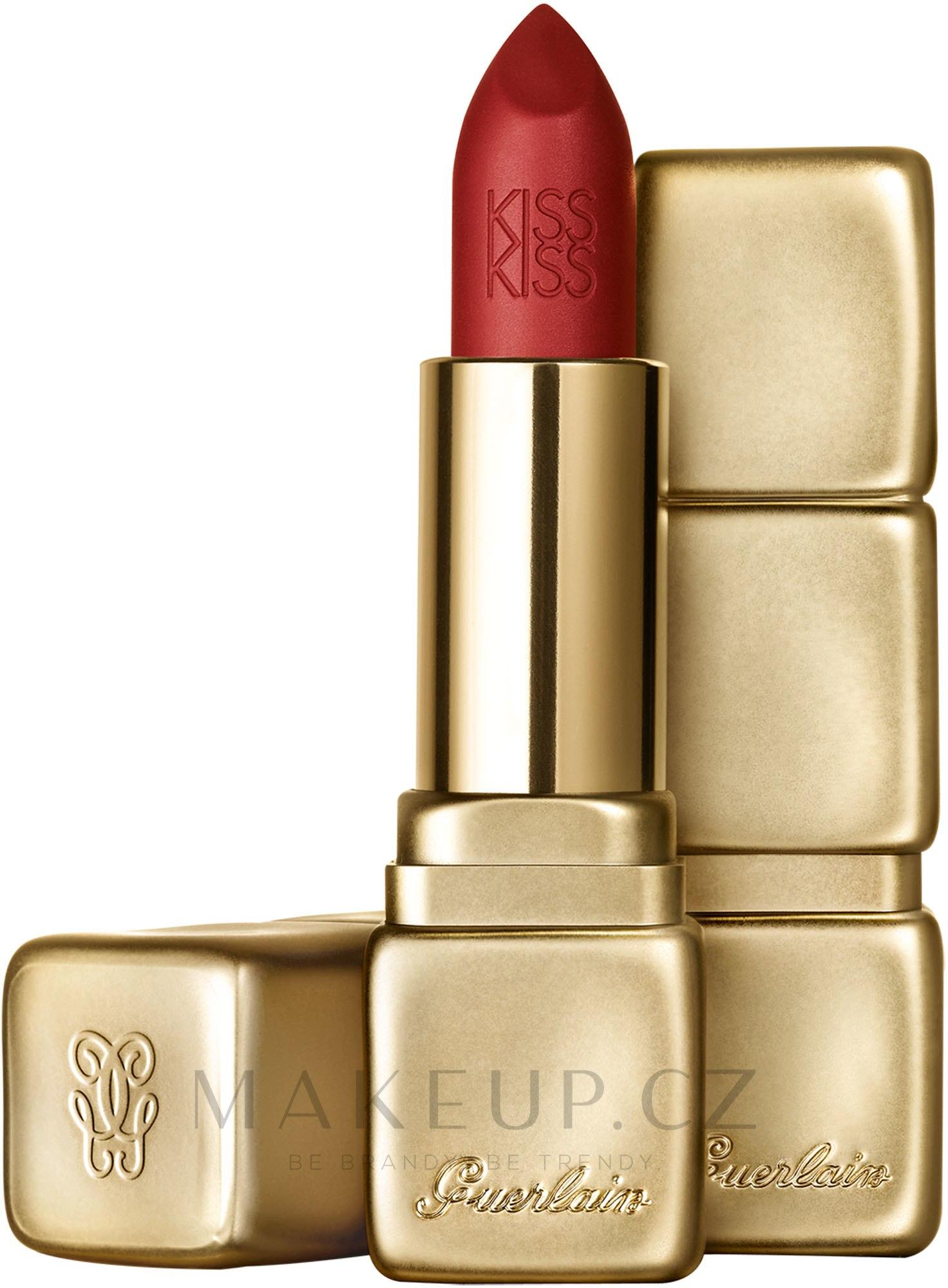 GUERLAIN - KissKiss Matte Hydrating Matte Lip Colour | Buy