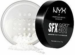 Parfémy, Parfumerie, kosmetika Dokončovací pudr - NYX SFX Setting Powder