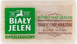 Parfémy, Parfumerie, kosmetika Hypoalergenní přírodní mýdlo - Bialy Jelen Hypoallergenic Natural Soap