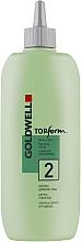 Parfémy, Parfumerie, kosmetika Trvalá ondulace pro porézní a barvené vlasy - Goldwell Topform 2