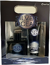 Parfémy, Parfumerie, kosmetika Omerta Silver Ocean - Sada (edt/100ml + sh/gel/100ml)