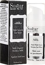 Parfémy, Parfumerie, kosmetika Pánské sérum na vlasy - Sostar Donkey Milk Men Anti-Hair Loss Serum