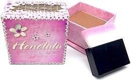 Parfémy, Parfumerie, kosmetika Bronzující pudr na obličej - W7 Honolulu Bronzer Powder