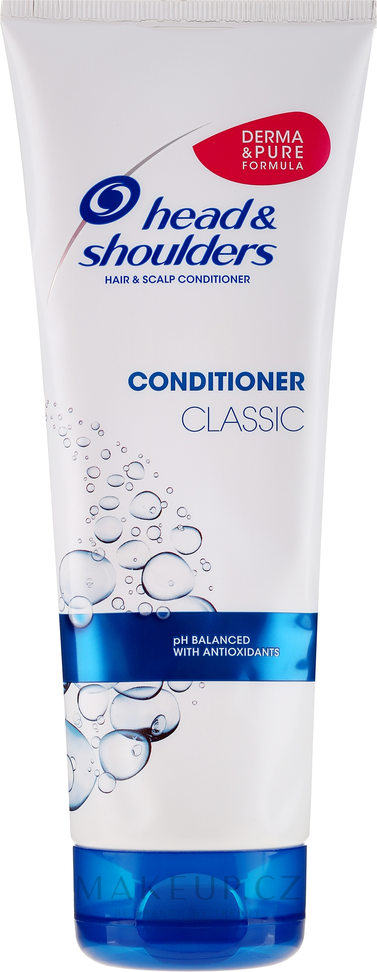 Kondicionér proti lupům na normální vlasy - Head & Shoulders Conditioner Classic — foto 220 ml