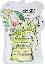 """Parfémy, Parfumerie, kosmetika Maska na obličej """"Avokádo"""" - Marion Fit & Fresh Avocado Face Mask"""