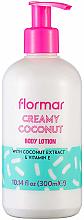 Parfémy, Parfumerie, kosmetika Tělový lotion Kokos - Flormar Coconut Body Lotion